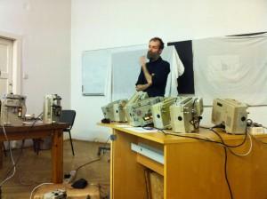 Siegfried Zielinski Workshop, Szilágyi Kornél és Vándor Csaba prezentációja