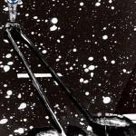 Tisztulás és körforgás, 2013, vegyes technika, fényvisszaverő reflexfólia, jelzőtábla